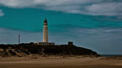 Lighthouse timelapse Stock Footage