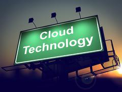 Cloud Tecnology Billboardin. Piirros