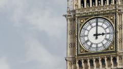 Big Ben, London, time lapse Stock Footage