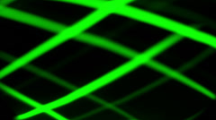 science spectrum, green lights abstract - stock footage