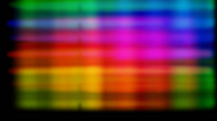 science spectrum, lights abstract - stock footage