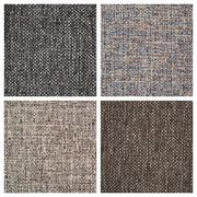 Set from four textile backgrounds Stock Photos