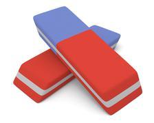 Stock Illustration of eraser