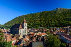 brasov, romania - stock photo