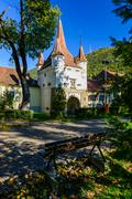 catherine gate in brasov, romania - stock photo