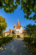 Stock Photo of ecaterina gate in brasov, romania