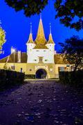 Stock Photo of catherine gate in brasov, romania