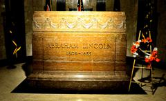 Abraham lincoln gravestone Stock Photos