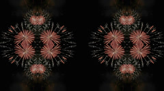 Time Lapse Kaleidoscope Background Stock Footage