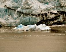 Alaskan glaciers Stock Photos