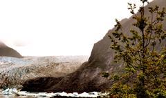 Stock Photo of alaskan glaciers