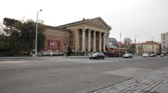 Palace of Art Budapest - stock footage