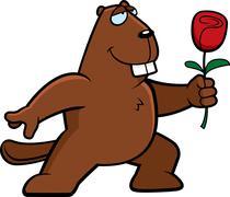 Stock Illustration of Beaver Flower
