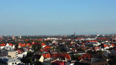 View over munich Stock Footage