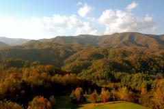 Stock Photo of asheville north carolina mountains