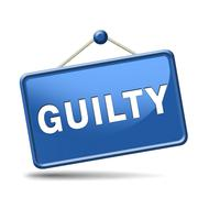 Stock Illustration of guilty
