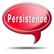 Stock Illustration of persistence