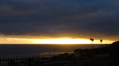 Malibu Sunset B - stock footage