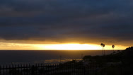 Stock Video Footage of Malibu Sunset B