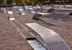 911 memorial  to victiims of pentagon attack arlington virginia washington dc Stock Photos