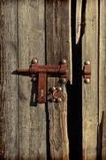 old wooden shuttle - stock photo