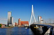 Stock Photo of rotterdam by the bridge