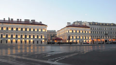 Saint Petersburg Court Capella. St.Petersburg, Russia Stock Footage