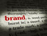 Stock Illustration of Dictionary - Brand - Red On BG