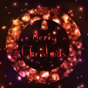christmas decoration ideas - stock illustration