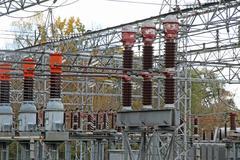 Disconnectors sähkövirran suuren voimalaitoksen Kuvituskuvat