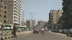 CAIRO EGYPT Street Scene 1970s Vintage 8mm Film Home Movie 7405 Stock Footage