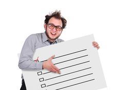 Stock Photo of check box
