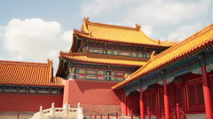 Forbidden City, Palace Museum, Beijing, China Stock Footage