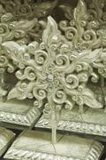 christmas snowflake decoration - stock photo