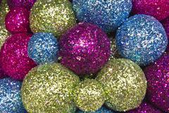 Stock Photo of christmas balls background