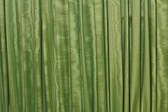 textured green silk background horizontal - stock photo