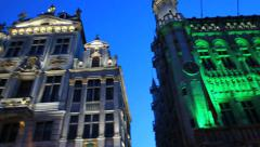 Belgium, Grand-Place - Brussels 22 Stock Footage