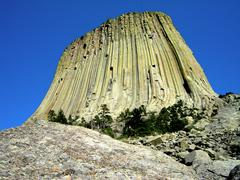 devils tower - stock photo