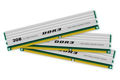 DDR3 memory modules - stock illustration