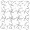 Stock Illustration of Puzzles seamless template
