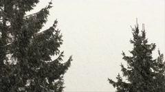 Snowfall 03 - stock footage