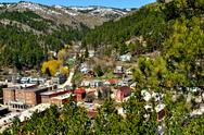 Stock Photo of deadwood south dakota-1-1