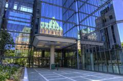 Ottawa City center scene, Canada - stock photo