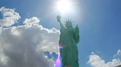 Statue of Liberty Time Lapse 4 - 4K (4096 x 2304) Stock Footage