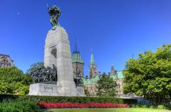 The war memorial, Ottawa, Ontario, Canada - stock photo