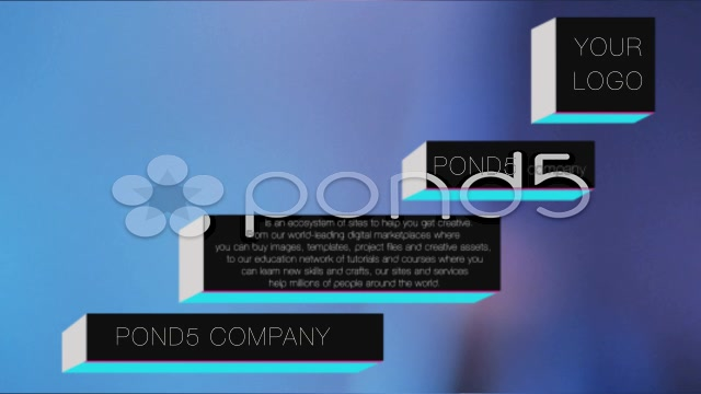 After Effects Project - Pond5 Elegant Box Lower Third 4 in 1 32818381