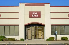 Retail store building for sale - stock photo