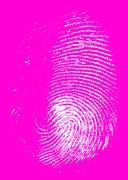 Thumb print Stock Illustration
