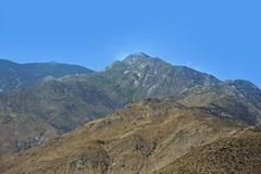 Southern California vuorijono Kuvituskuvat