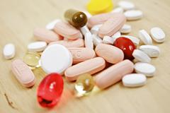 colorful pharmaceutical pills - stock photo